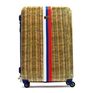 Macbeth Collection Provence Hardside Wicker Spinner Luggage