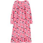 Girls 4-14 Carter's Ankle Length Fleece Nightgown