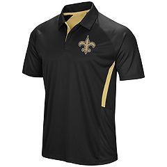 Men's Majestic New Orleans Saints Game Day Club Polo