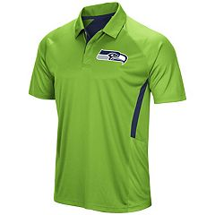 Men's Majestic Seattle Seahawks Game Day Club Polo