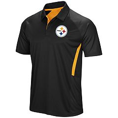 Men's Majestic Pittsburgh Steelers Game Day Club Polo