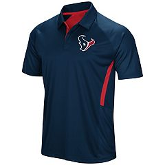Men's Majestic Houston Texans Game Day Club Polo