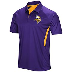 Men's Majestic Minnesota Vikings Game Day Club Polo
