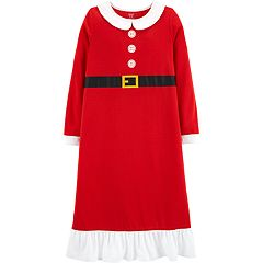 Girls 4-14 Carter's Mrs. Claus Nightgown