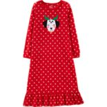 Girls 4-14 Carter's Christmas Dog Fleece Nightgown