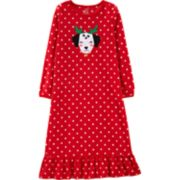 Girls 4-14 Carter's Christmas Dog Fleece Nightgown
