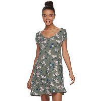 Juniors' SO® Cross-Back Swing Dress