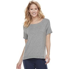 Women's SONOMA Goods for Life™ Ribbed Trim Tee