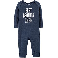 Baby Boy Carter's 'Best Brother Ever' Graphic Coverall