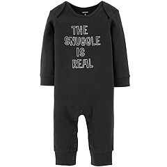 Baby Boy Carter's 'The Snuggle Is Real' Graphic Coverall