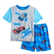 Boys 4-10 Hot Wheels 2-Piece Pajama Set