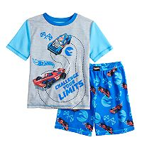 Boys 4-10 Race Car 2 pc Pajama Set