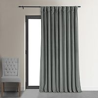 EFF Signature Velvet Double-Wide Blackout Window Curtain