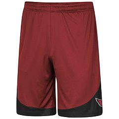 Men's Majestic Arizona Cardinals Targeting Shorts