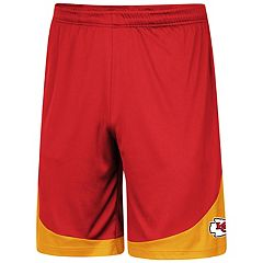Men's Majestic Kansas City Chiefs Targeting Shorts