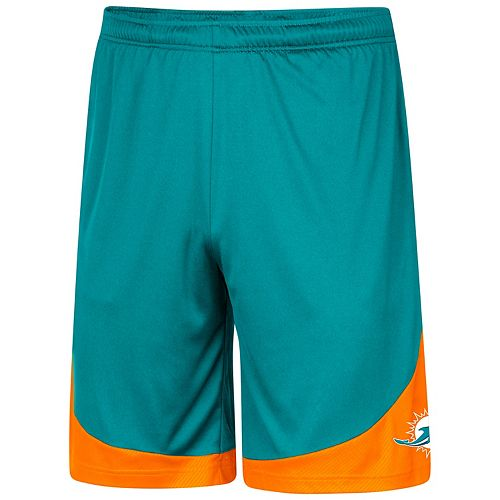 00208585 Men's Majestic Miami Dolphins Targeting Shorts