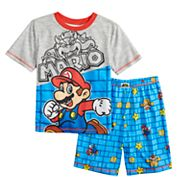 Boys 4-12 Super Mario Bros. 2 pc Pajama Set