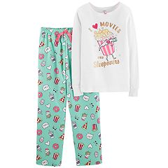 Girls 4-14 Carter's Top & Microfleece Bottoms Pajama Set