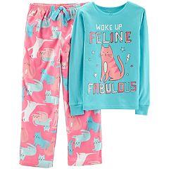 Girls 4-14 Carter's Top & Microfleece Bottoms Pajama Set