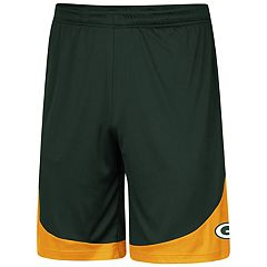 Men's Majestic Green Bay Packers Targeting Shorts