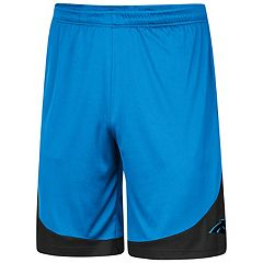 Men's Majestic Carolina Panthers Targeting Shorts
