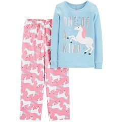 Girls 4-14 Carter's Top & Fleece Bottoms Pajama Set