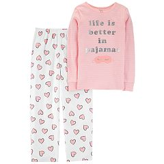 Girls 4-14 Carter's Top & Fleece Bottoms Pajama Set