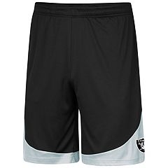 Men's Majestic Oakland Raiders Targeting Shorts