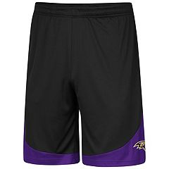 Men's Majestic Baltimore Ravens Targeting Shorts