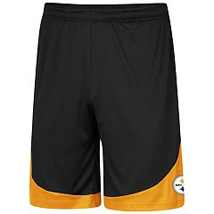 Men's Majestic Pittsburgh Steelers Targeting Shorts