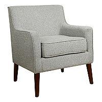 HomePop Davis Mid-Century Accent Chair