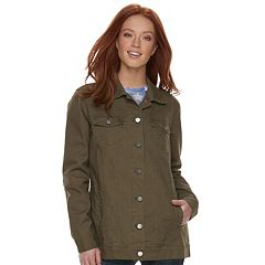 Women's Rock & Republic® Camo Cuff Utility Jacket