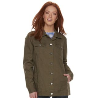 Women's Rock & Republic® Camo Cuff Utility Jacket