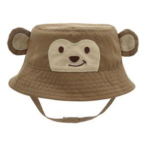 Baby Boy Monkey Bucket Sun Hat