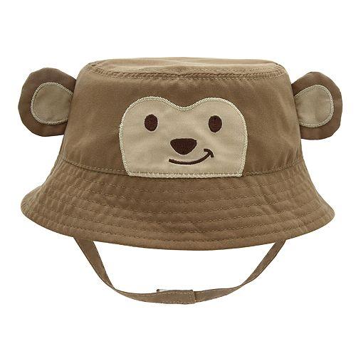 361af9f8aec Baby Boy Monkey Bucket Sun Hat