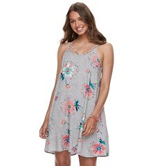 Juniors' SO® Strappy Woven Swing Dress