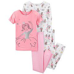 Girls 4-14 Carter's Top & Pants Pajama Set