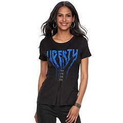 Women's Rock & Republic® 'Liberty' Cinch Tee