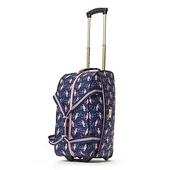 Macbeth Collection On Vacay Wheeled Duffel Bag