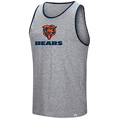 Men's Majestic Chicago Bears Go the Route Tank Top