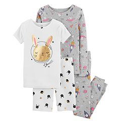 Girls 4-14 Carter's Top & Bottoms Pajama Set