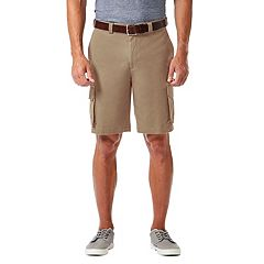 Men's Haggar® Straight-Fit Stretch Cargo Flat-Front Shorts