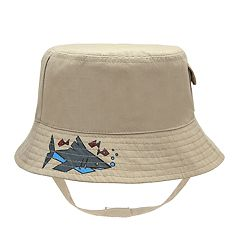 Baby Boy Shark Bucket Sun Hat