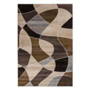Natco Providence Distorted Plaid Geometric Rug