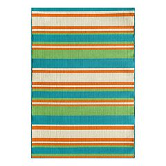 Natco Tributary Allison Stripe Indoor Outdoor Rug