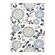 Natco Tributary Chrysanthemum Floral Indoor Outdoor Rug