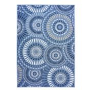 Natco Tributary Lizbeth Geometric Indoor Outdoor Rug