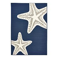 Natco Tributary Starfish Duo Indoor Outdoor Rug