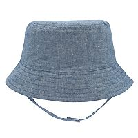 Baby Boy Chambray Bucket Sun Hat