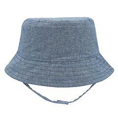 Baby Boy Chambray Bucket Sun Hat